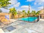 Holgate House at Anaheim Disneyland Private heated pool