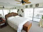 Beautiful King bed in Master bedroom