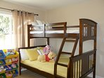 Hampstead House at Disneyland Anaheim Vacation Rental Guestroom with Bunk Bed