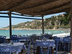 A taverna in Almyrida village - 15 - 20 minutes walk from Villa Nina.