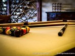 Pool table at Copperleaf at Eagles Nest.