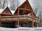 This luxury vacation rental  is located in the exclusive, private gated community of Eagle's Nest, on Snow Mountain...