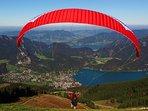 Para glider - Zwolferhorn mountain, St Gilgen