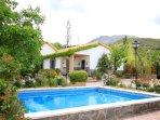 Villa El Nogal with  private swimming pool