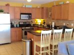 Kitchen with granite counters and loaded with amenities