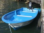 12 ft skiff available and fishing tackle