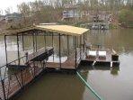 10x24 dock w/ swim platform