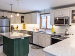 Chef's kitchen - total renovation