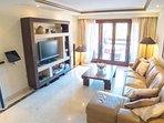 great design apartment including sat tv, BNO, etc