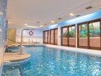 indoor pool, sauna and Hamman