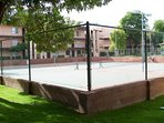 Tennis Courts outside the condo