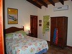 Master bedroom with split A/C and en suite