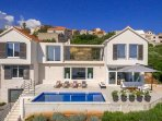 Modern villa in a traditional setting, Selce, Brac island