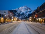 Stroll down the streets of Banff and take in the awe-inspiring Cascade Mountain, beautiful in every season.