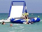 Summer beach facilities
