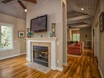 Beautiful wood floors are standard thoughout the home