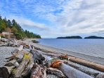 Immerse yourself in nature along this 177km shoreline