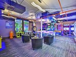 Enjoy the perks of having a game room right on site!