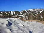 This wonderful condo is just steps from skiing, snowboarding, and other mountain activities.