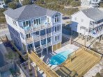 Pool, Party Deck and Hot Tub