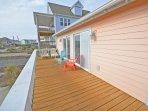 Oceanside front deck