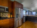 Large open kitchen with everything you need to make you feel at home.