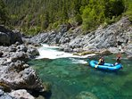 There are Several Full-Service Rafting Outfitters in Town - Plan a Slow or Fast-Water Trip. Fun!
