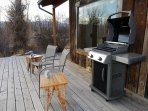 Enjoy your morning coffee out on the deck and cook dinner on the barbecue