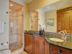 Guest bathroom 1 - Walk in shower.