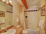 Full Guest Bathroom on main level