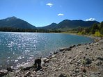Enjoy nearby Lake Dillon with the dog