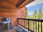 Private deck with gorgeous views. - Features BBQ Grill.