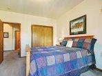 Guest bedroom  - Queen bed.