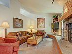 SkyRun Property - 'CC301 Cross Creek 2BR 2BA' - Updated Living Room - Beautifully appointed living room features newer...
