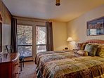 Master Bedroom - Features king bed and private bathroom.