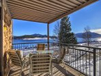 Large private deck - Deck features BBQ and patio furniture to take in breathtaking views.