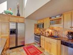 Gourmet Kitchen - Fully stocked kitchen with stainless steal and high end appliances.
