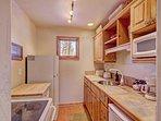 Master Suite Kitchen - Kitchen with refrigerator, stove & dishwasher.