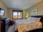 Master Suite 1 - King bed, HD TV & private bathroom.