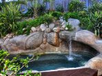 Waterfall Rock Jacuzzi