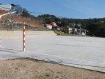 pistas de futbol sala y basquet