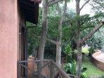 Upstairs private patio