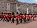 Changing of the Guard at Buckingham Palace .. take train to Green Park via Waterloo.