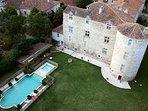 La maison du château de Fourcès