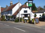 The award winning The Pointer Inn within walking distance. advise to book.