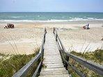 Beach Access Barefoot Lady