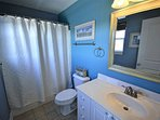 Master Bathroom-direct access from Master Bedroom