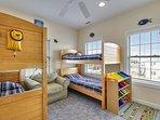 Bunk bedrooms
