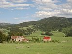 Located on 14 private acres in the foothills of the Bridger Mountains.