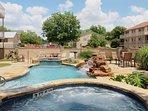 Waterwheel K-302-Courtyard Pool and Hot Tub